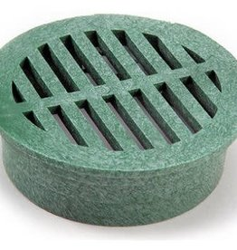 """NDS Drainage NDS 3"""" Round Grate - Green"""