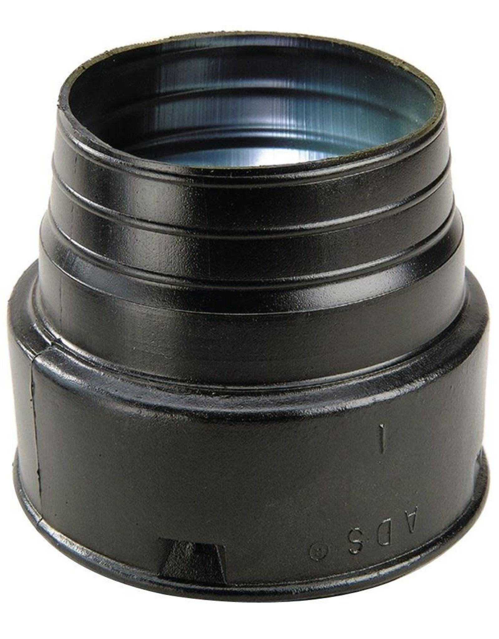 NDS Drainage NDS HDPE Corrugated Adapter Black 4 in. HUB x S&D SPT or HUB
