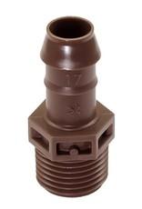 Rain Bird Rain Bird XF Male Adapter 17 mm x 1/2 in. Barb x MIPT (25 Pack)
