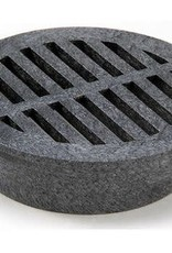 NDS Drainage NDS Drain Grate Round Polyolefin Black 4 in.