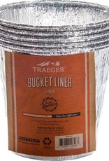 Traeger Traeger Bucket Liner 5 Pack - BAC407