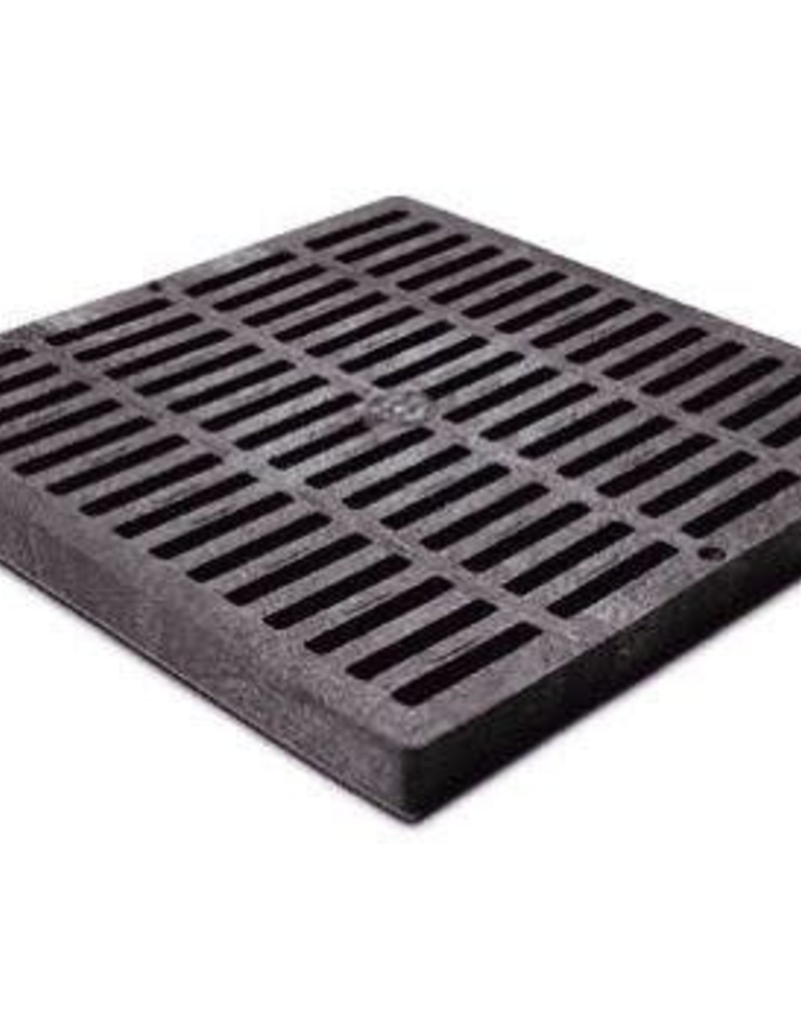 NDS Drainage NDS Drain Grate Square Polyolefin Black 12 in.