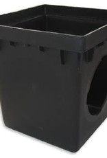 """NDS Drainage NDS 1200 12"""" by 12"""" Catch Basin, Black"""