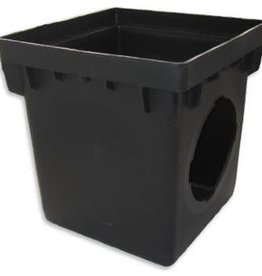 "NDS Drainage NDS 1200 12"" by 12"" Catch Basin, Black"