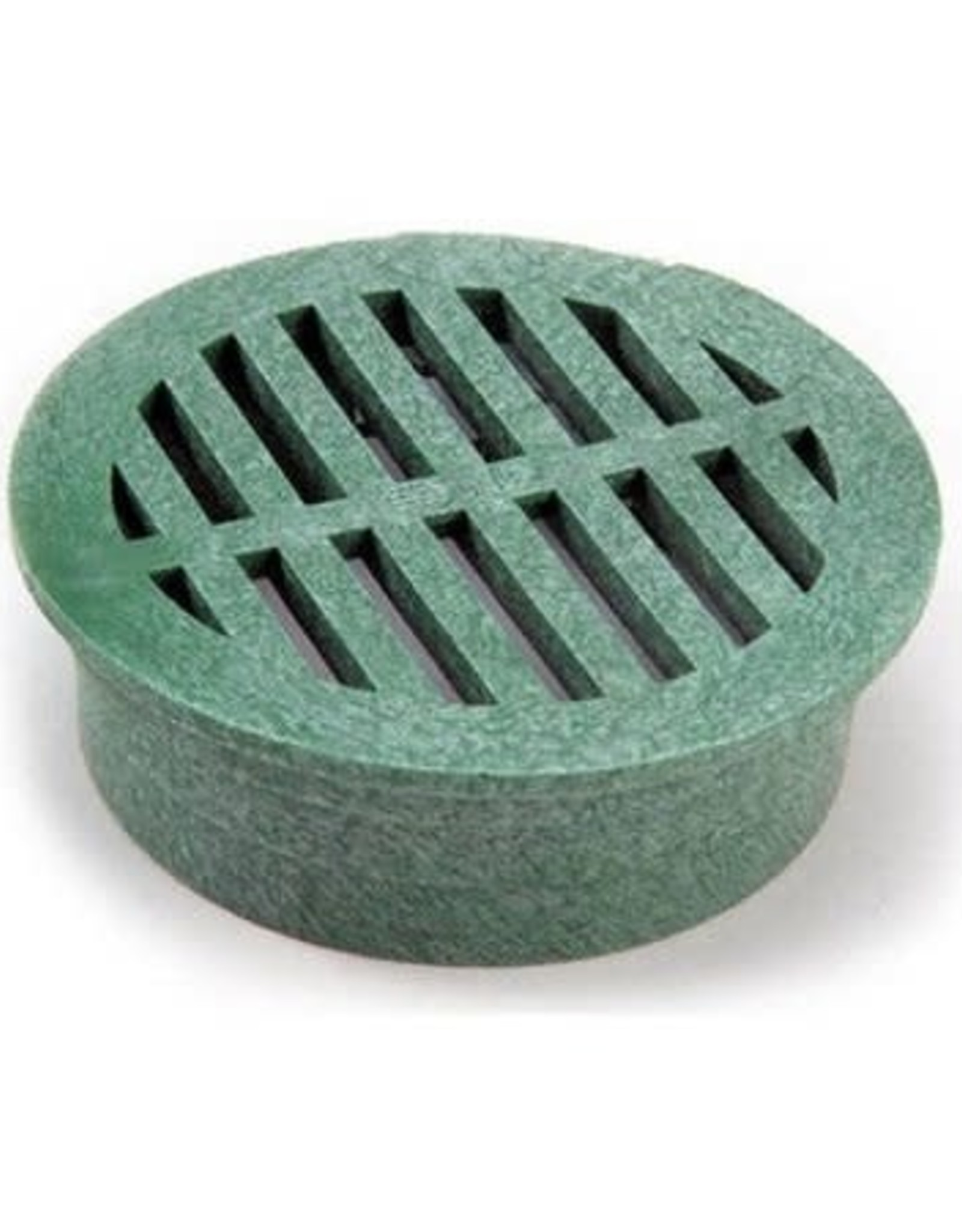 NDS Drainage NDS Drain Grate Round Polyolefin Green 3 in.