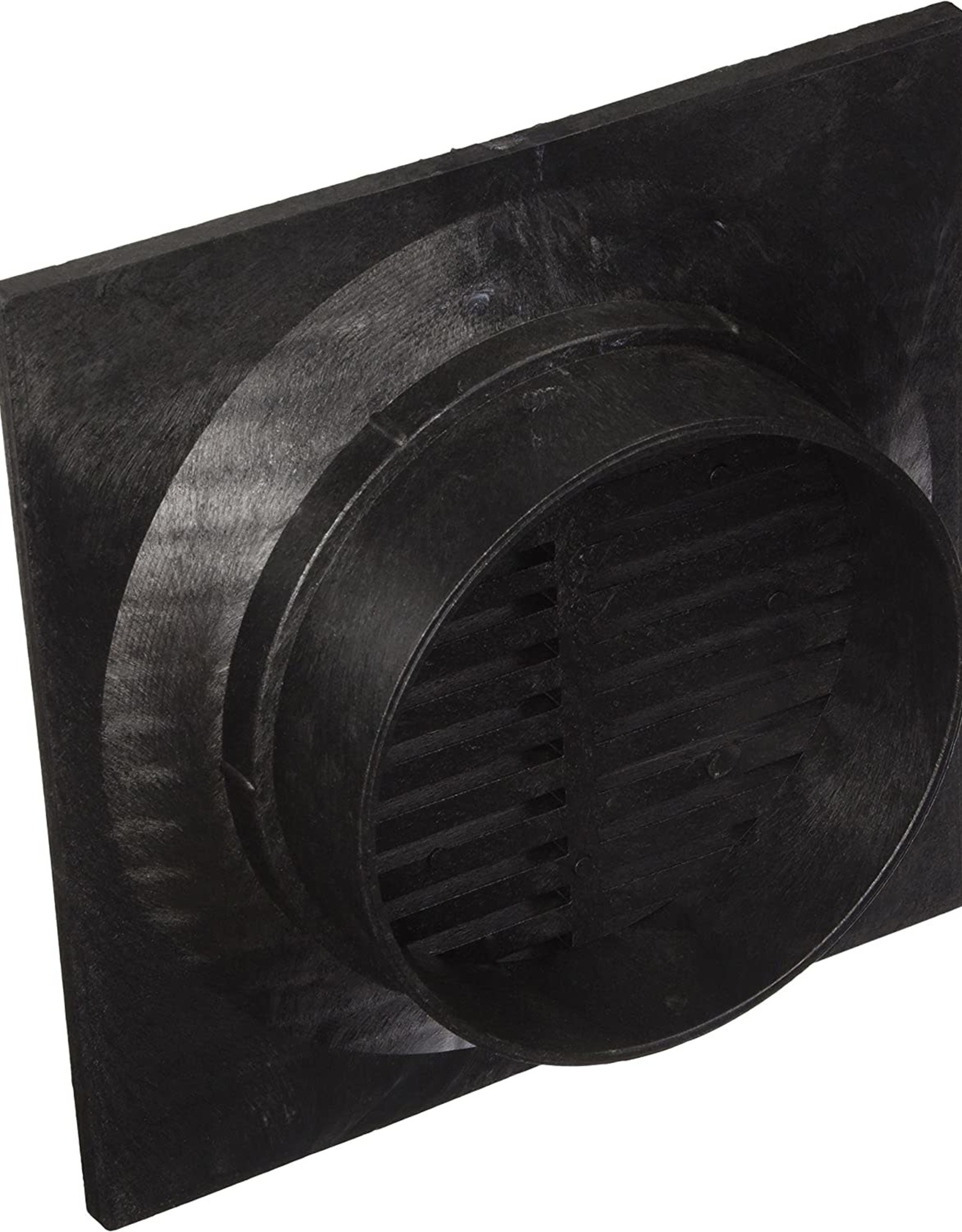 """NDS Drainage NDS 970 9"""" Square Grate x 6"""" Round"""