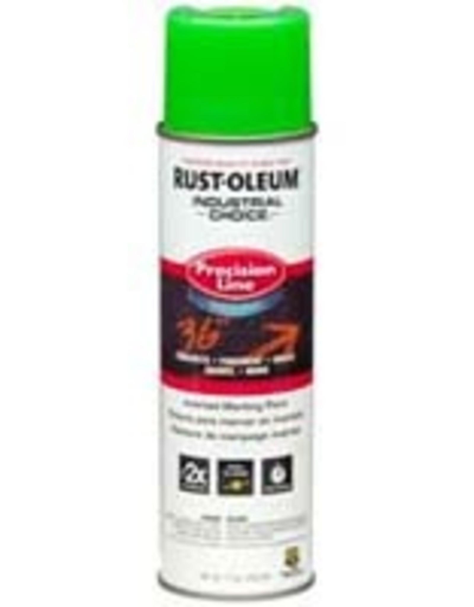 Rust-Oleum Rust-Oleum 203032 17 oz Inverted Marking Paint Flourescent Green