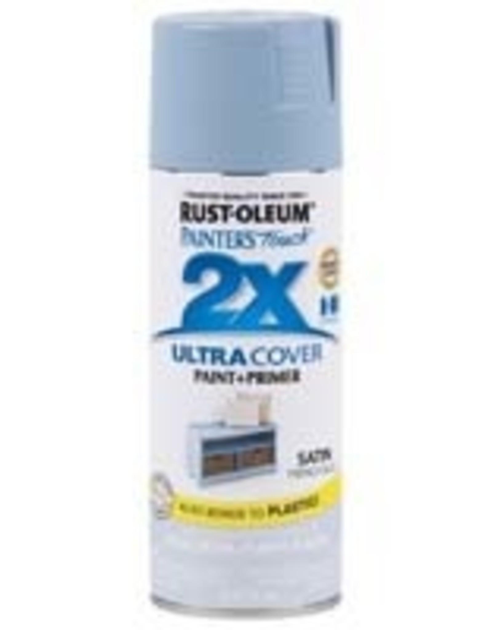 Rust-Oleum Rust-Oleum Ultra Cover 2x Satin Spray Flat Light Blue