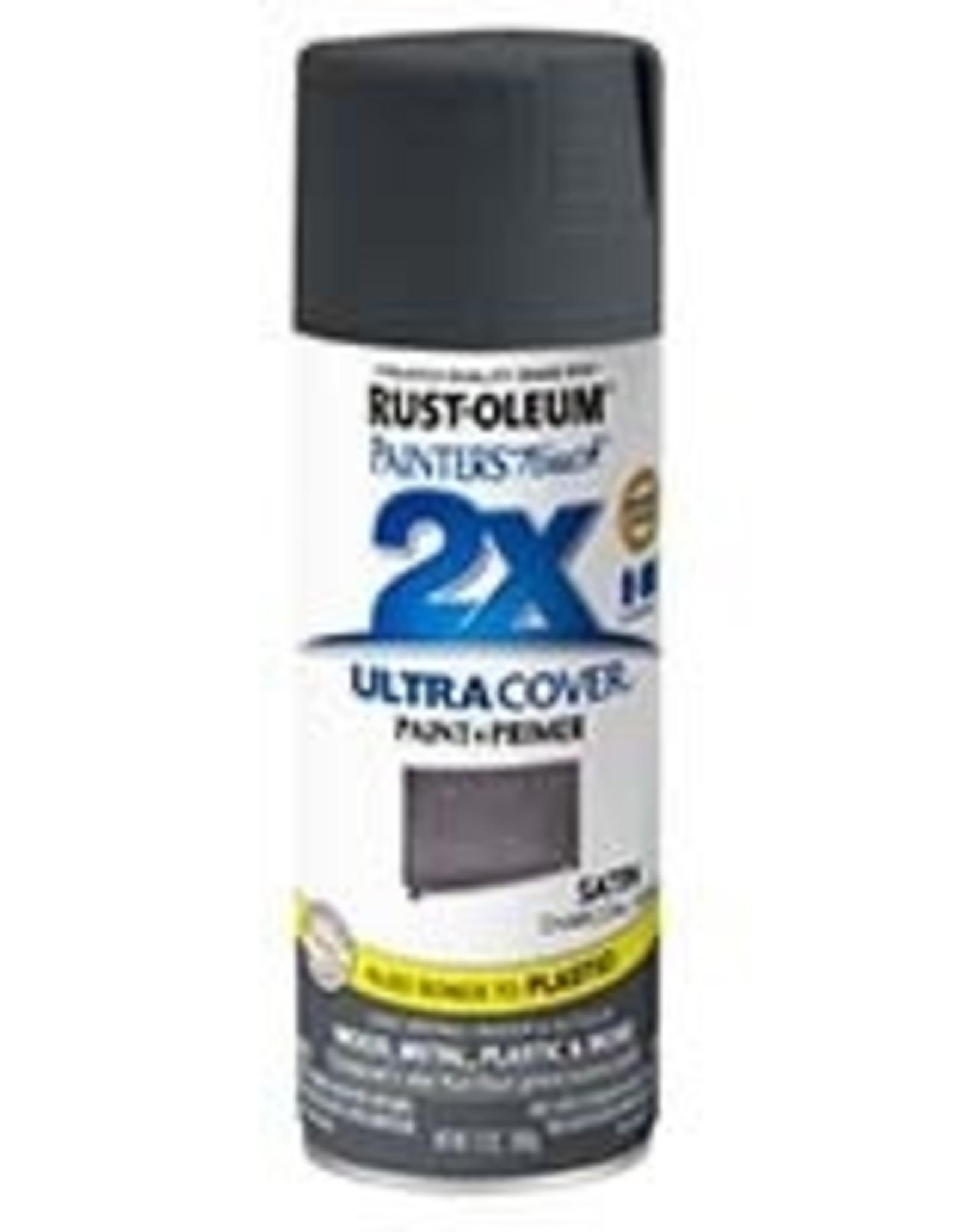 Rust-Oleum Rust-Oleum Ultra Cover 2x Satin Spray Charcoal/Gray