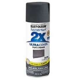 Rust-Oleum Rust-Oleum 342061 Ultra Cover 2x Satin Spray Charcoal/Gray