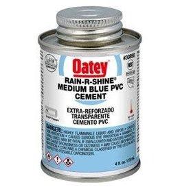 Oatey Oatey - Rain R Shine Medium Blue PVC Cement 4oz