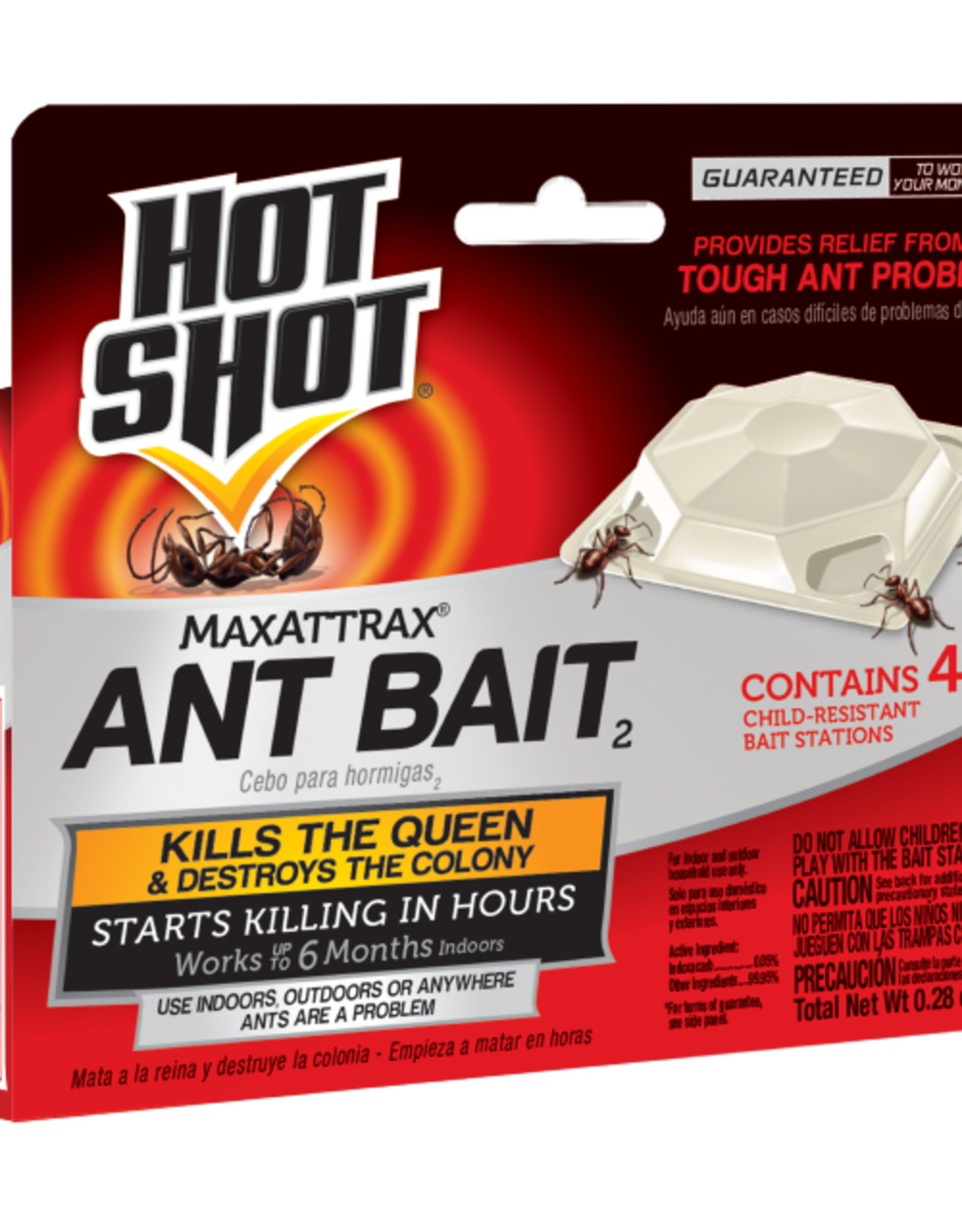 United Ind. Corp/Spectrum Hot Shots MaxAttrax TM Ant Baits