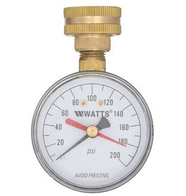 Watts Water Tech Watts Water Pressure Test Gauge