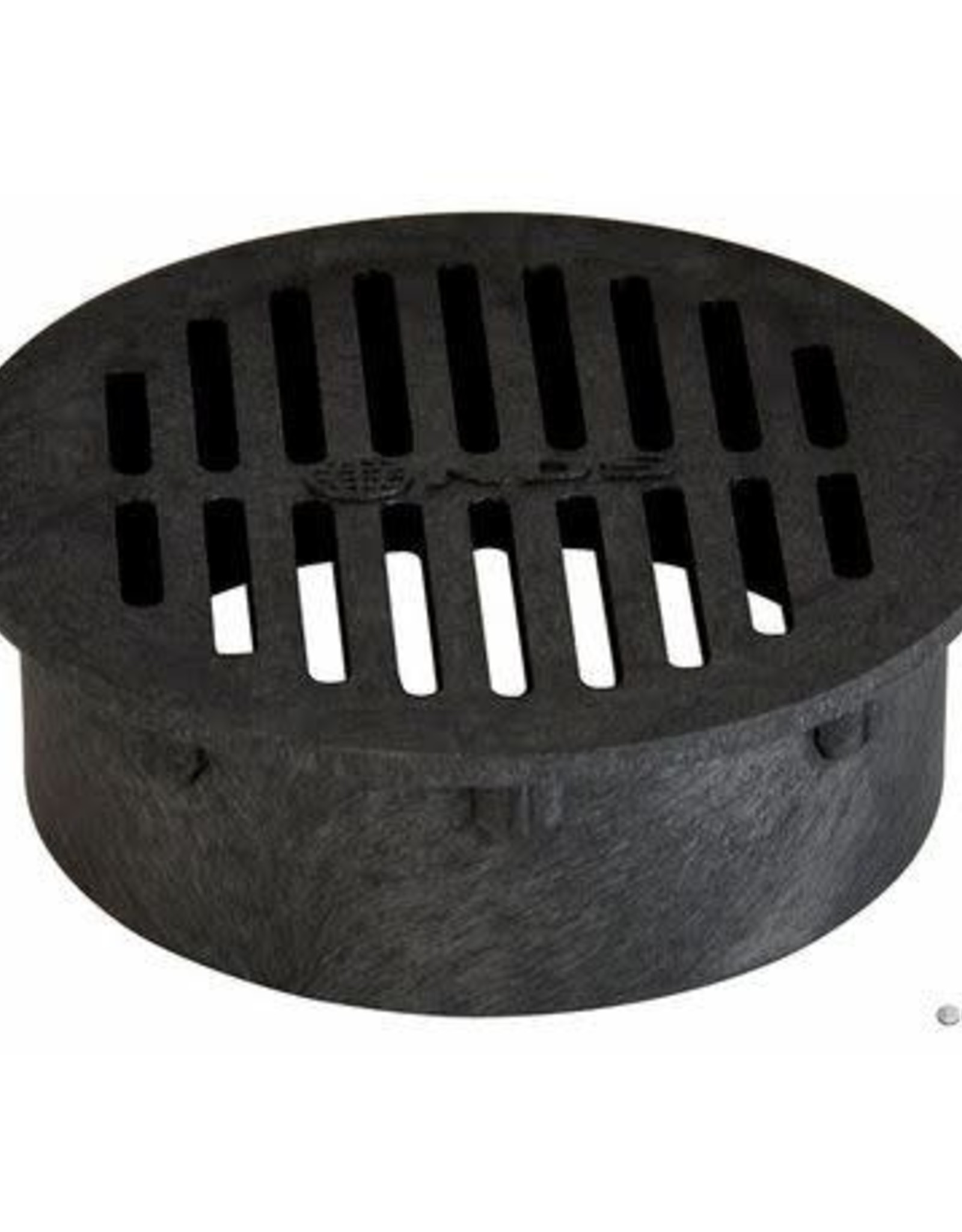 """NDS Drainage NDS 4"""" Round Black Grate"""