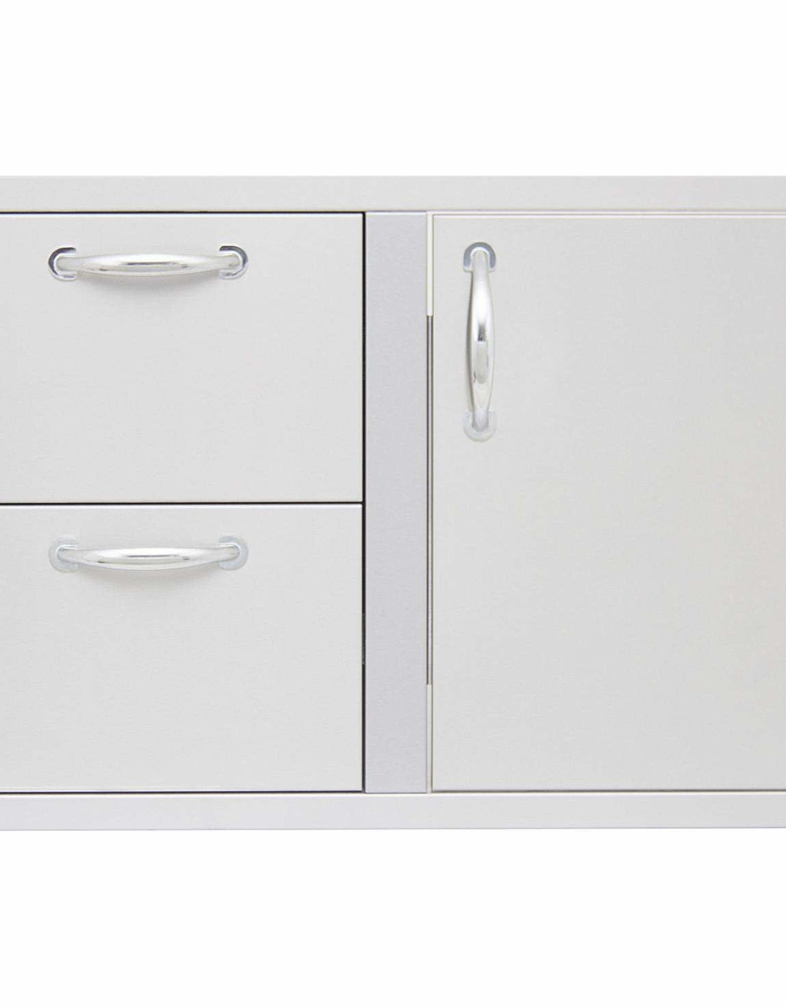 Blaze Outdoor Products Blaze 32-Inch Access Door & Stainless Steel Double Drawer Combo - BLZ-DDC-R