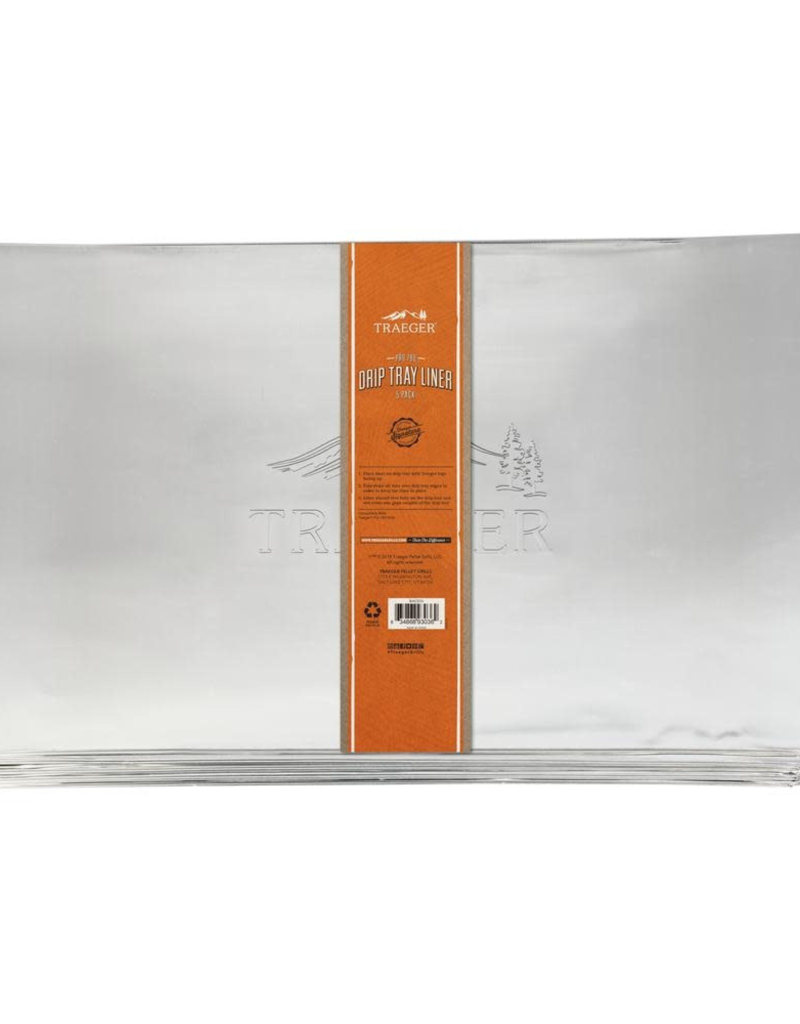 Traeger Traeger Drip Tray Liner 5 Pack - Pro 780 - BAC520