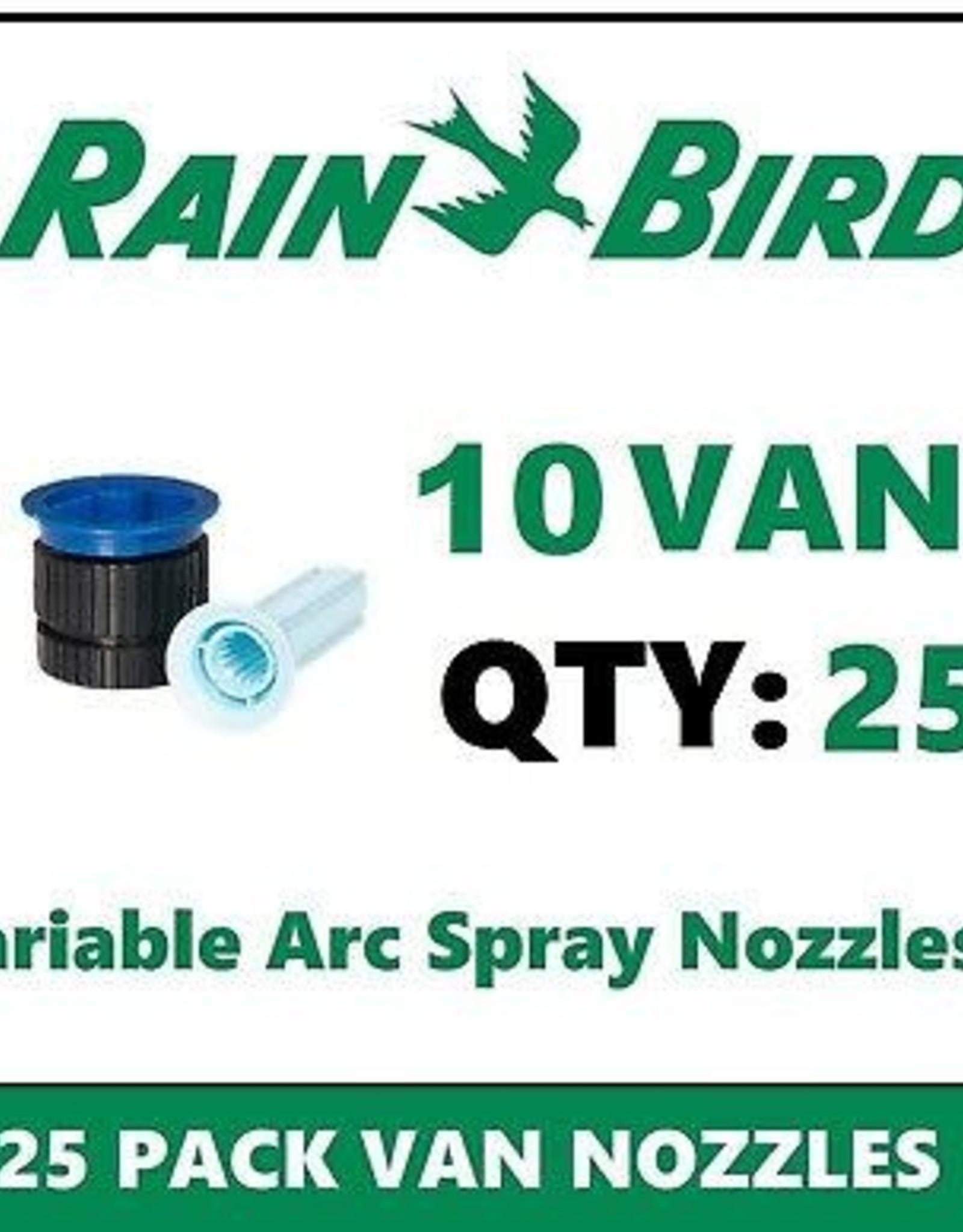 Rain Bird Rain Bird 10VAN Nozzle 10 ft. Radius Variable Arc VAN - 25 Pack