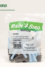 Rain Bird Rain Bird 15VAN Nozzle 15 ft. Radius Variable Arc VAN - 25 Pack