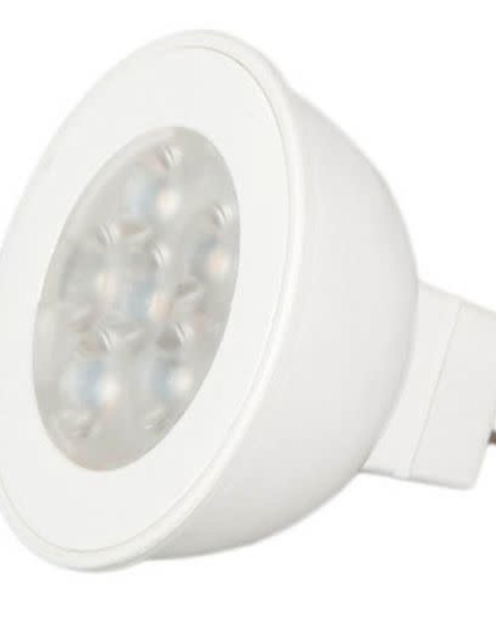 Maxxima 7 Watt MR16 LED Warm White 550 Lumens, 3000K Warm White (2 Pack)