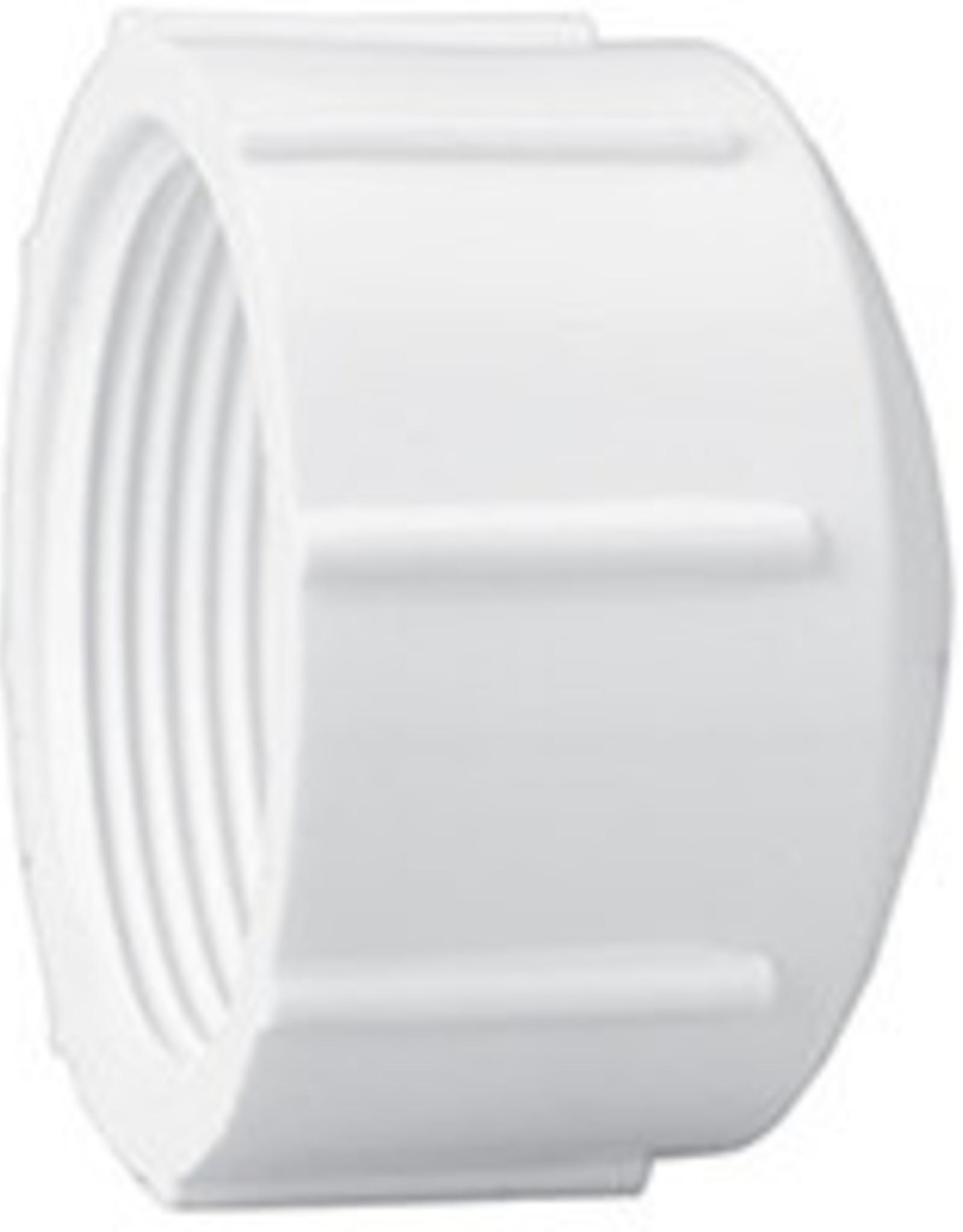 "Lasco Fittings PVC 1/2"" Threaded Cap Fitting SCH 40 Pressure"