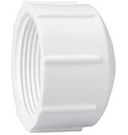"Lasco Fittings PVC 3/4"" Threaded Cap Fitting SCH 40"