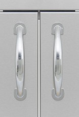 Blaze Outdoor Products Blaze 25-Inch Stainless Steel Double Access Door - BLZ-AD25-R