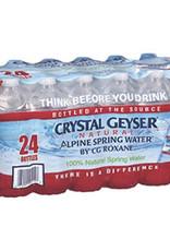 Crystal Geyser Crystal Geyser Water Case 24pk 16.9 fl.oz.