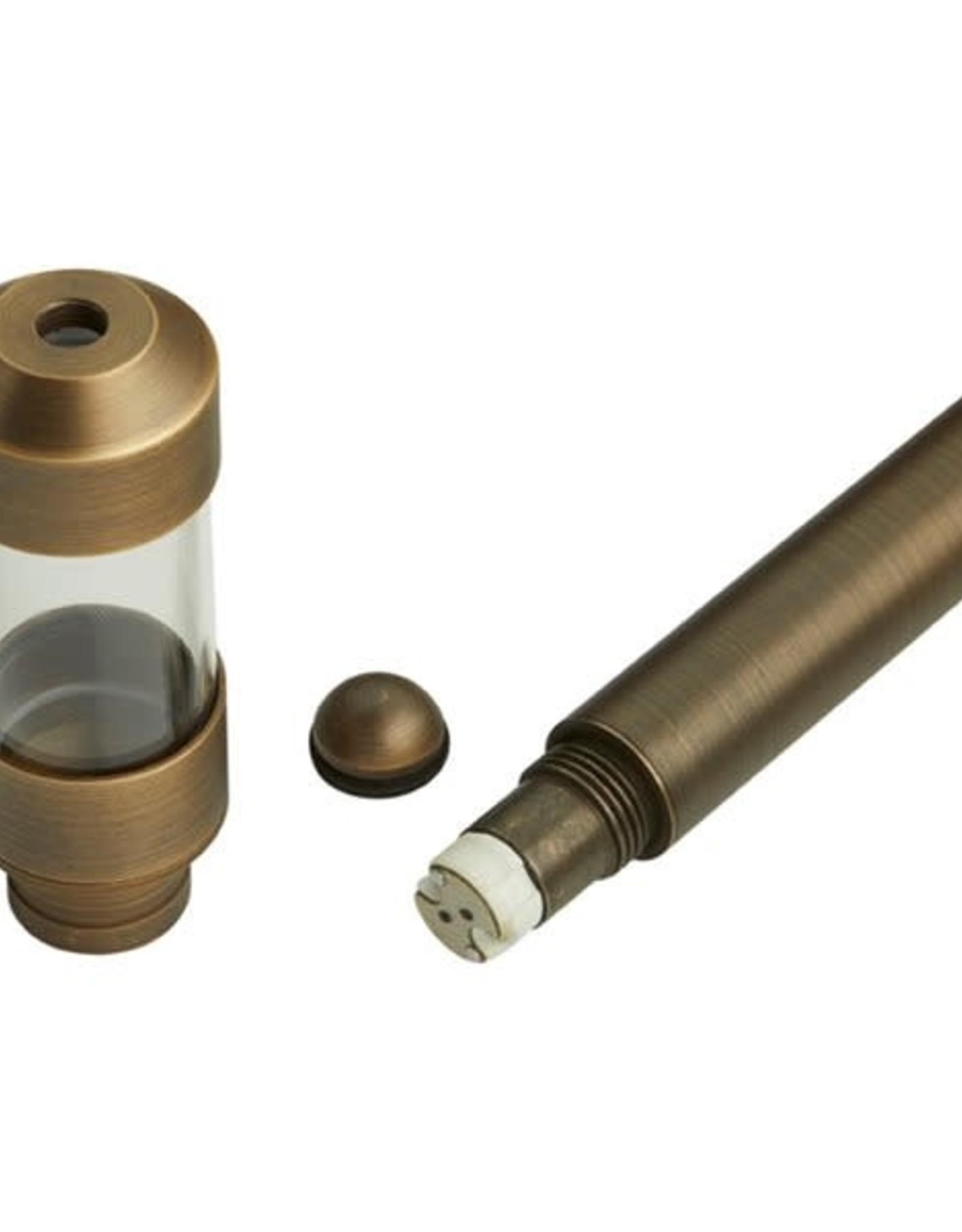 Volt Lighting Solid Brass Pathlight 12v Antique Brass