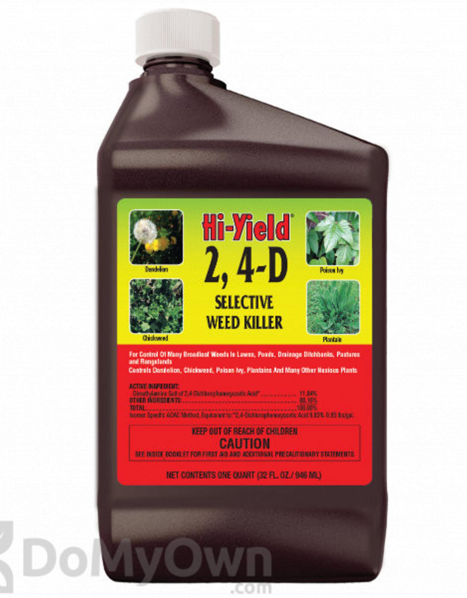 Hi-Yield Hi - Yield 2,4-D Amine #4  Weed Killer 32 oz