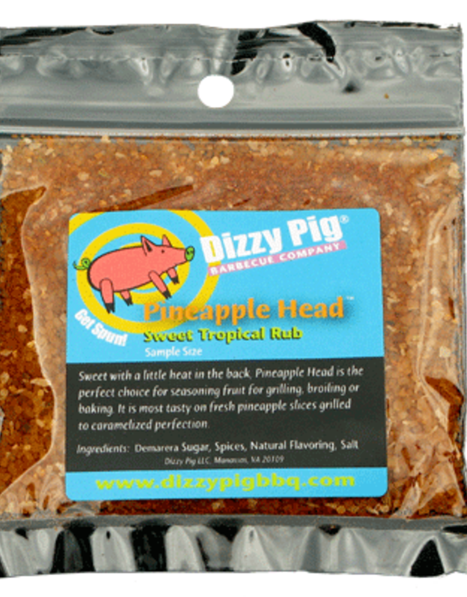 Dizzy Pig Dizzy Pig - Pineapple Head Sample