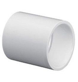 "Lasco Fittings PVC 1"" Coupling Slip x Slip SCH 40"