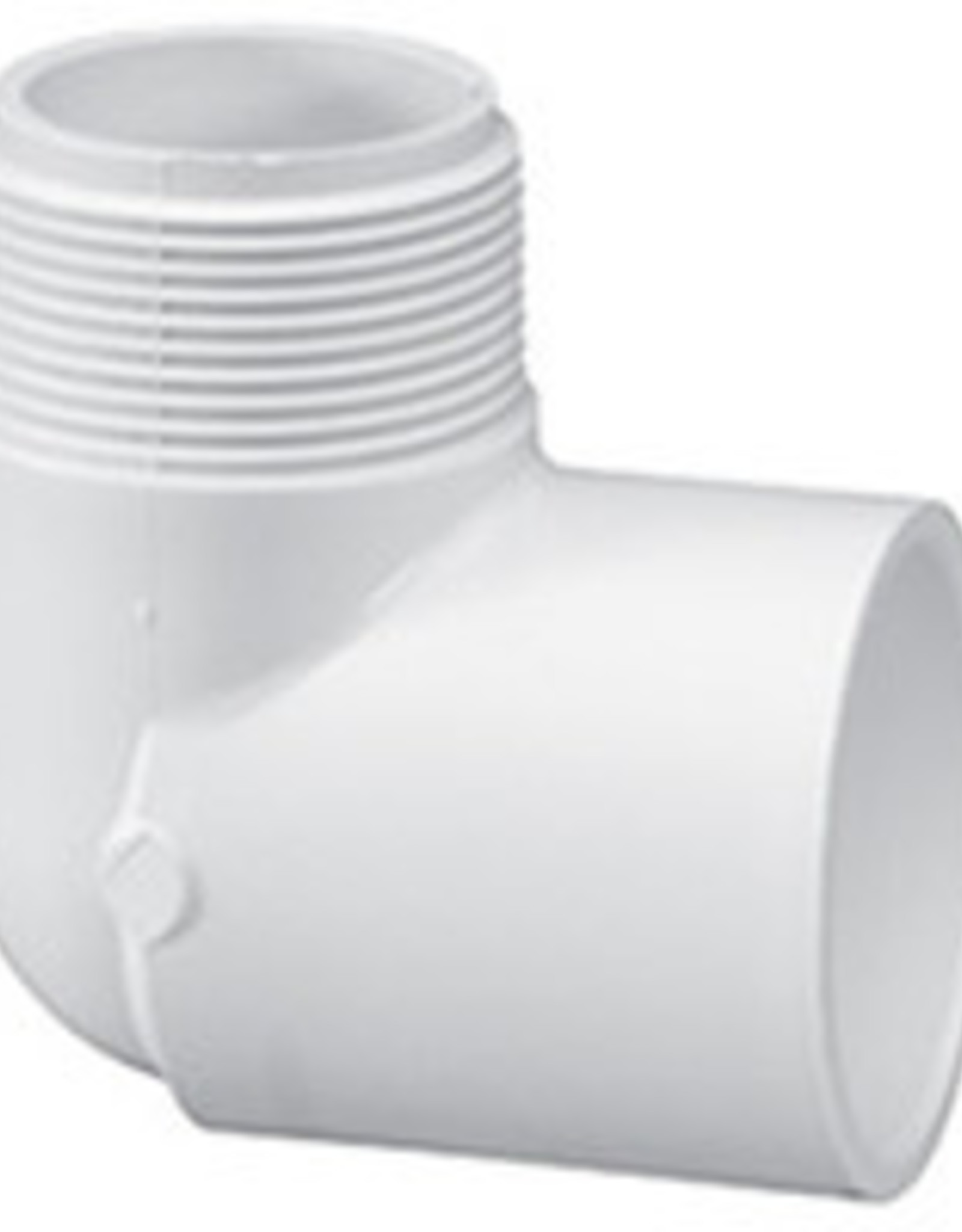 """Lasco Fittings PVC Sched 40 1"""" 90 Elbow"""