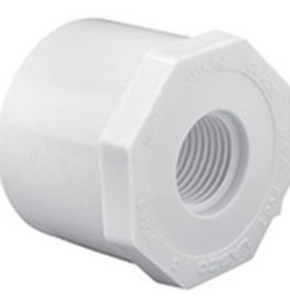 "Lasco Fittings PVC 1""x1/2""F Reducing Bushing Spigot X FIPT"