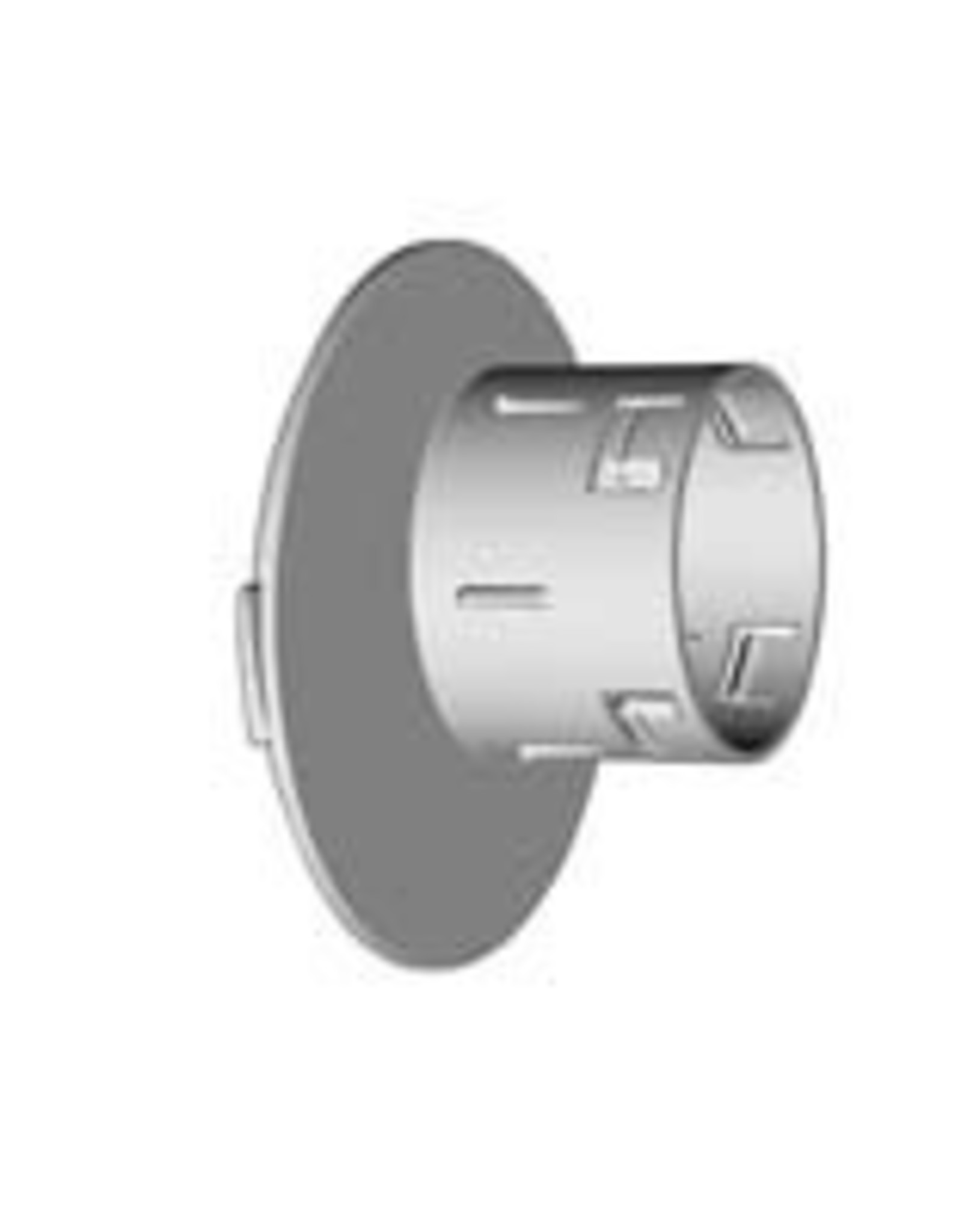 """NDS Drainage NDS 3"""" / 4"""" Offset Outlet Locking Adapter"""