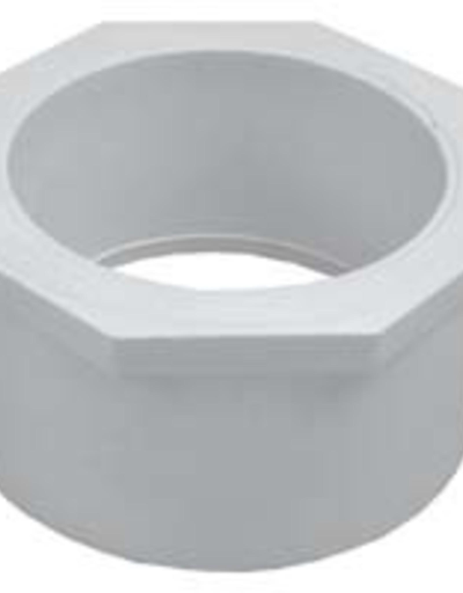 "Dura Plastic Products PVC 2 x 1.5"" Reducing Bushing SC 40"