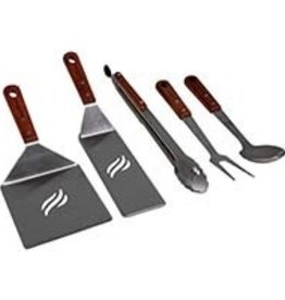 Blackstone Blackstone Wooden Handle Griddle Tool Kit 5 Piece 5039