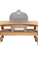 Primo Ceramic Grills Primo Deluxe Curved Cypress Table For Oval XL - 600