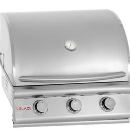 Blaze Outdoor Products Blaze 25-Inch 3-Burner Built-In Propane Grill - BLZ-3-LP