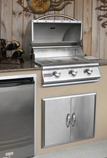 Blaze Outdoor Products Blaze 25-Inch 3-Burner Built-In Propane Grill - BLZ-3-LP