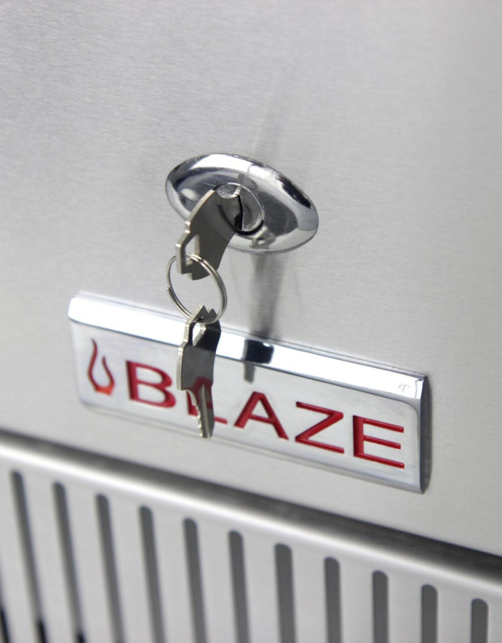 Blaze Outdoor Products Blaze 20.5-Inch 4.1 Cu. Ft. Outdoor Rated Compact Stainless Refrigerator - BLZ-SSRF-40DH