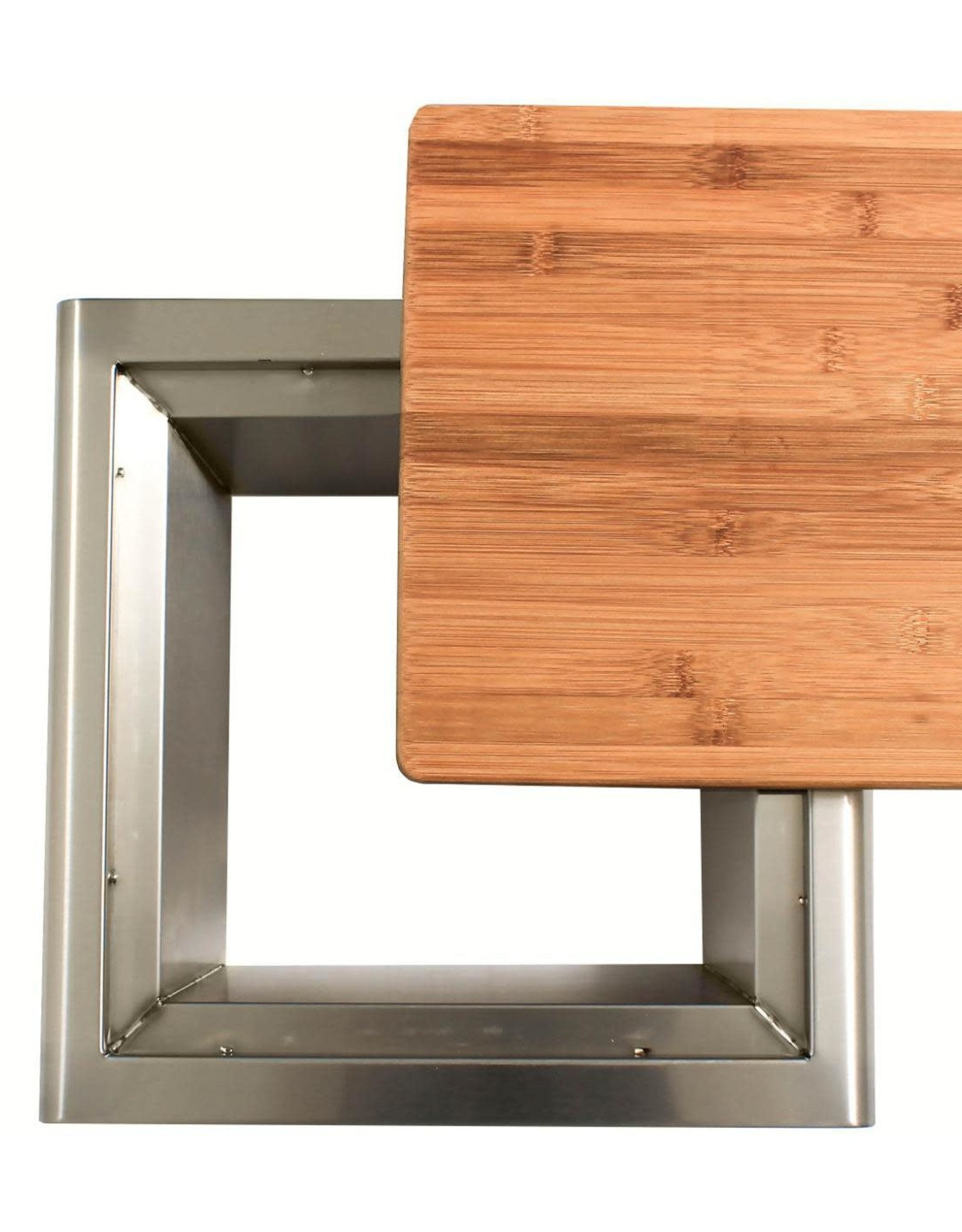 Blaze Outdoor Products Blaze 15-Inch Stainless Steel Trash Chute With Cutting Board - BLZ-TRC-CB