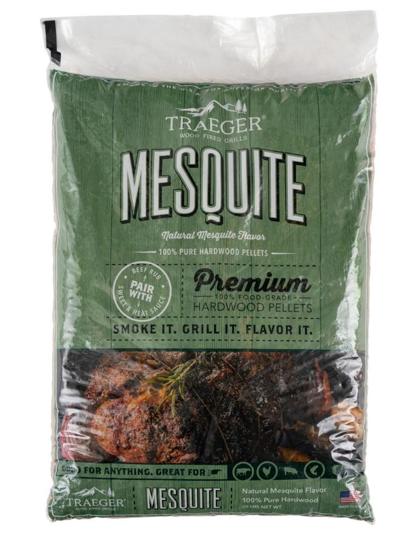 Traeger Traeger 20 Lb. Natural Hardwood Pellets - Mesquite