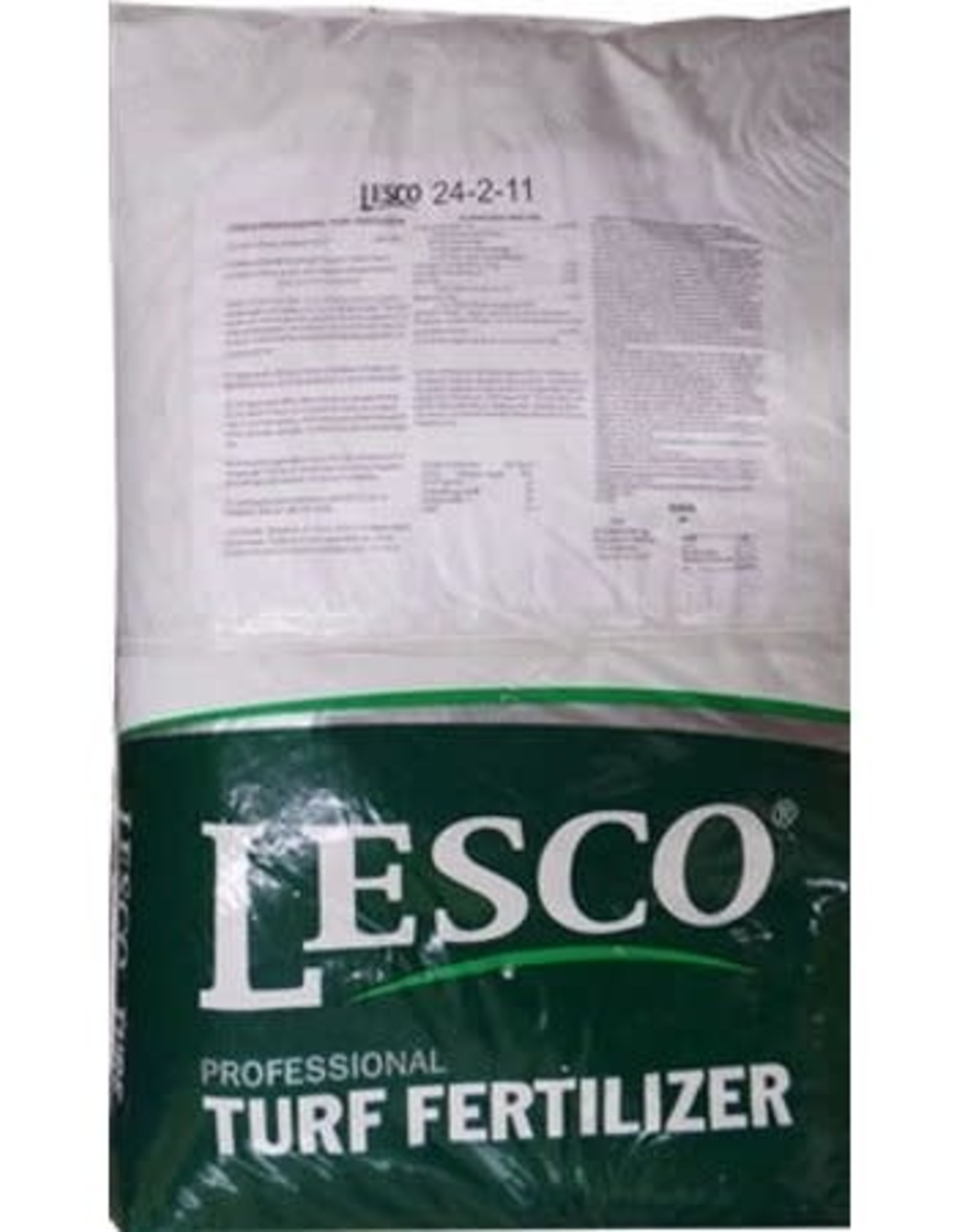 Lesco BULK LESCO Fertilizer 24-2-11 40% PolyPlus 6%Fe 1%Mn 50lb