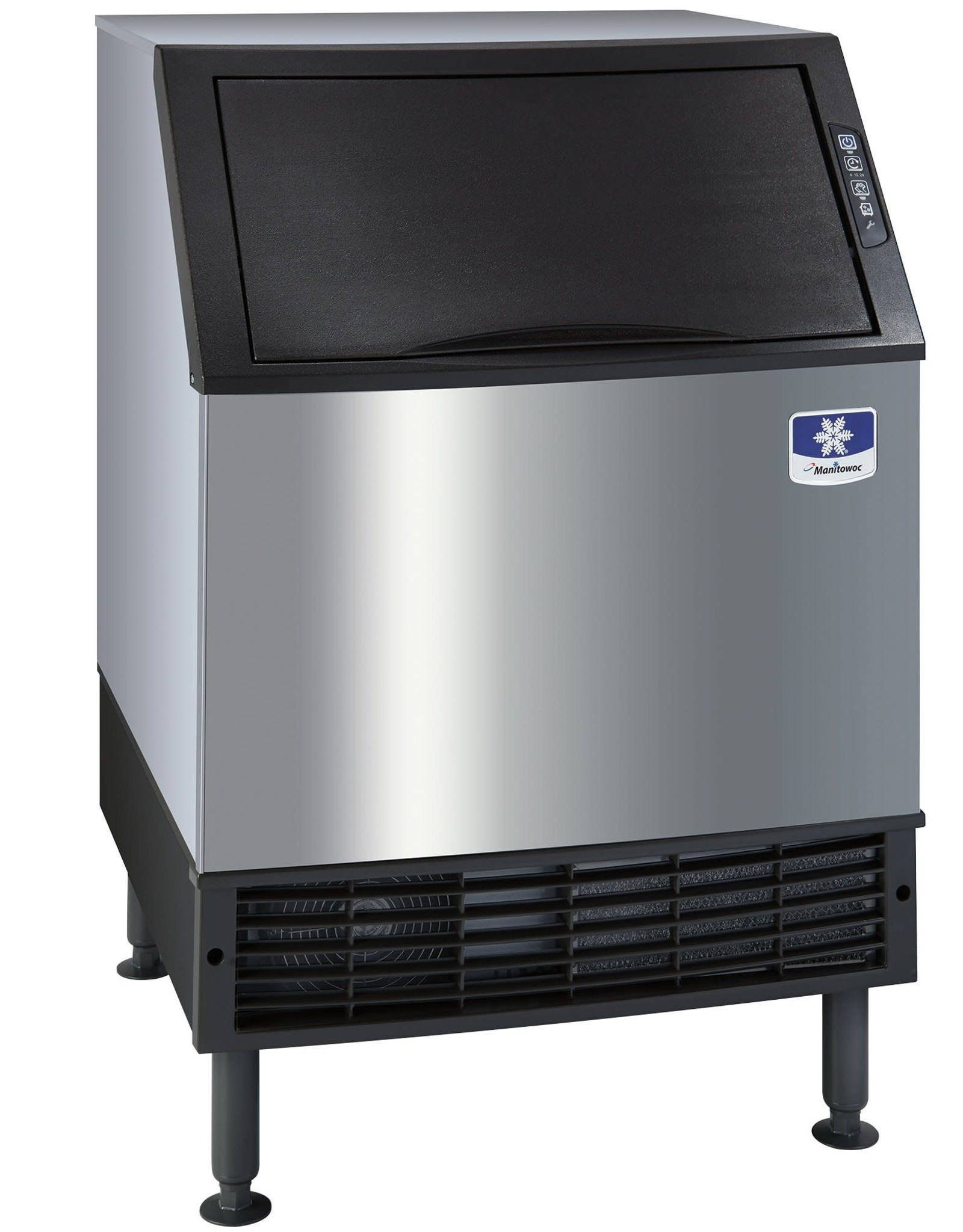 """Manitowac Manitowoc Ice UYF0140A 26""""W Half Cube NEO Undercounter Ice Maker - 137 lbs/day, Air Cooled"""