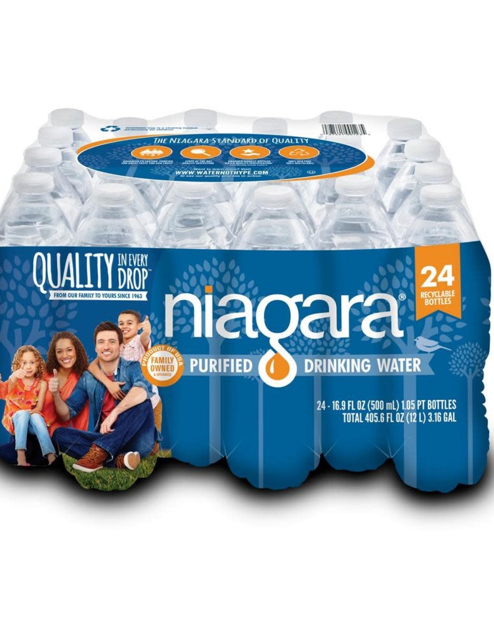 Niagara Niagra 16.9 fl. oz. Purified Drinking Water (24-Pack)