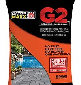 Alliance Designer Products BULK Poly Sand - Alliance Gator Max Bond G2 Slate Gray 50 lb