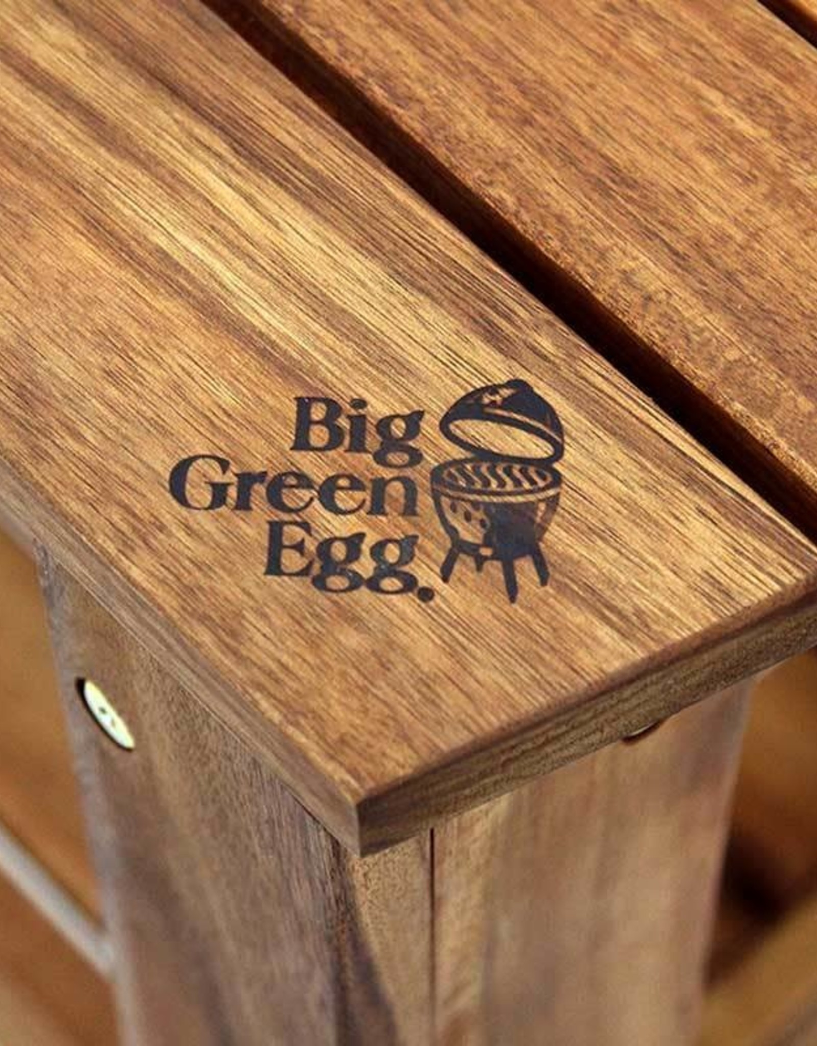 Big Green Egg Big Green Egg - Solid Acacia Hardwood Table for XLarge EGG  61in L x 32in W x 31in H