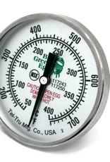 "Big Green Egg Big Green Egg - 3"" Temperature Gauge Thermometer Tel-Tru (750 Degree F / 400 Degree Celcius)"