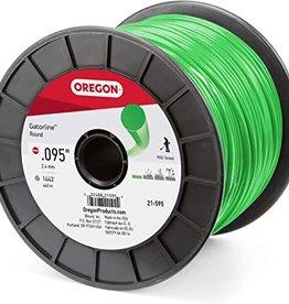 "Oregon Chain Saw Co. Oregon Gatorline Round Green .095"" 3lb Spool"