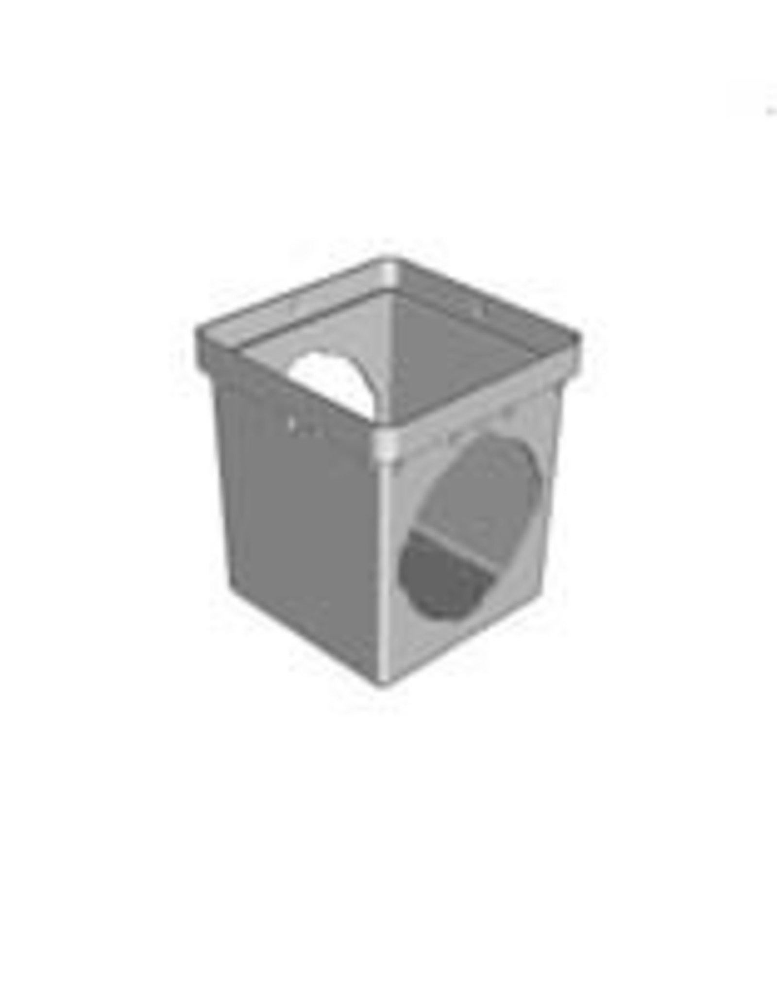 """NDS Drainage NDS 12"""" x 12"""" Square 2 Hole Basin Only"""